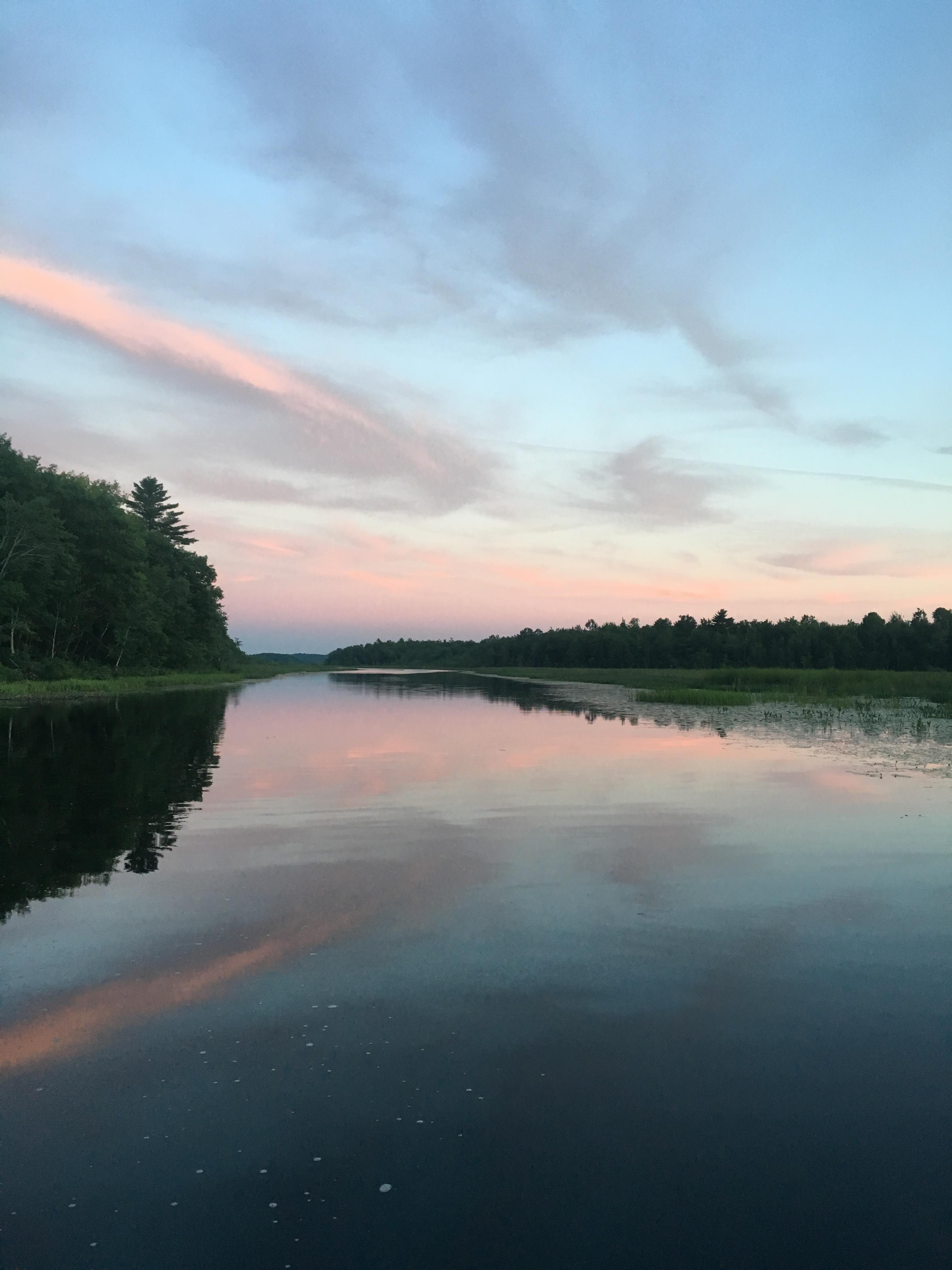 One last trip fishing reports maine fly fish for Fly fishing maine
