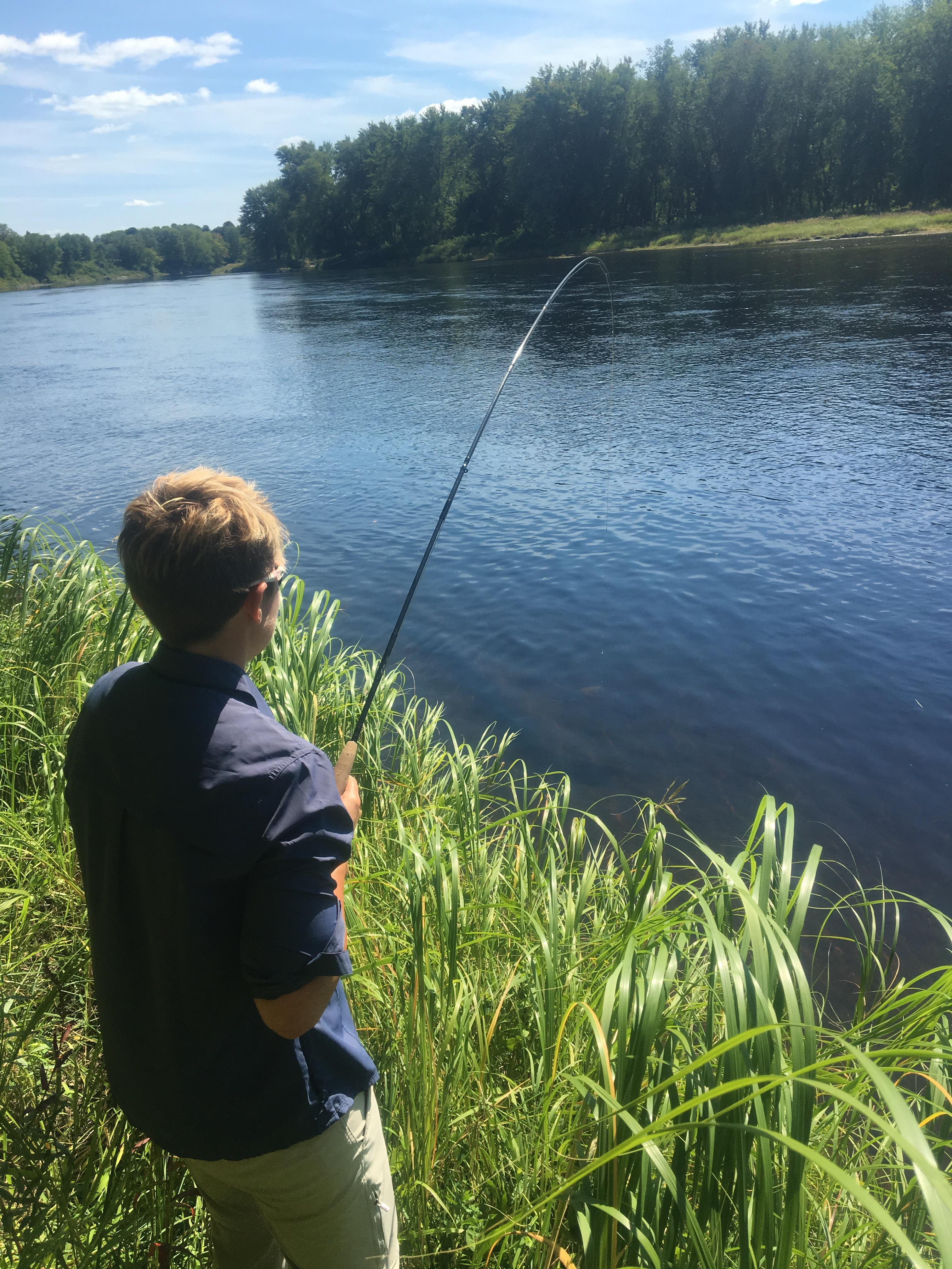 First time fly fishing fishing reports maine fly fish for Fly fishing maine