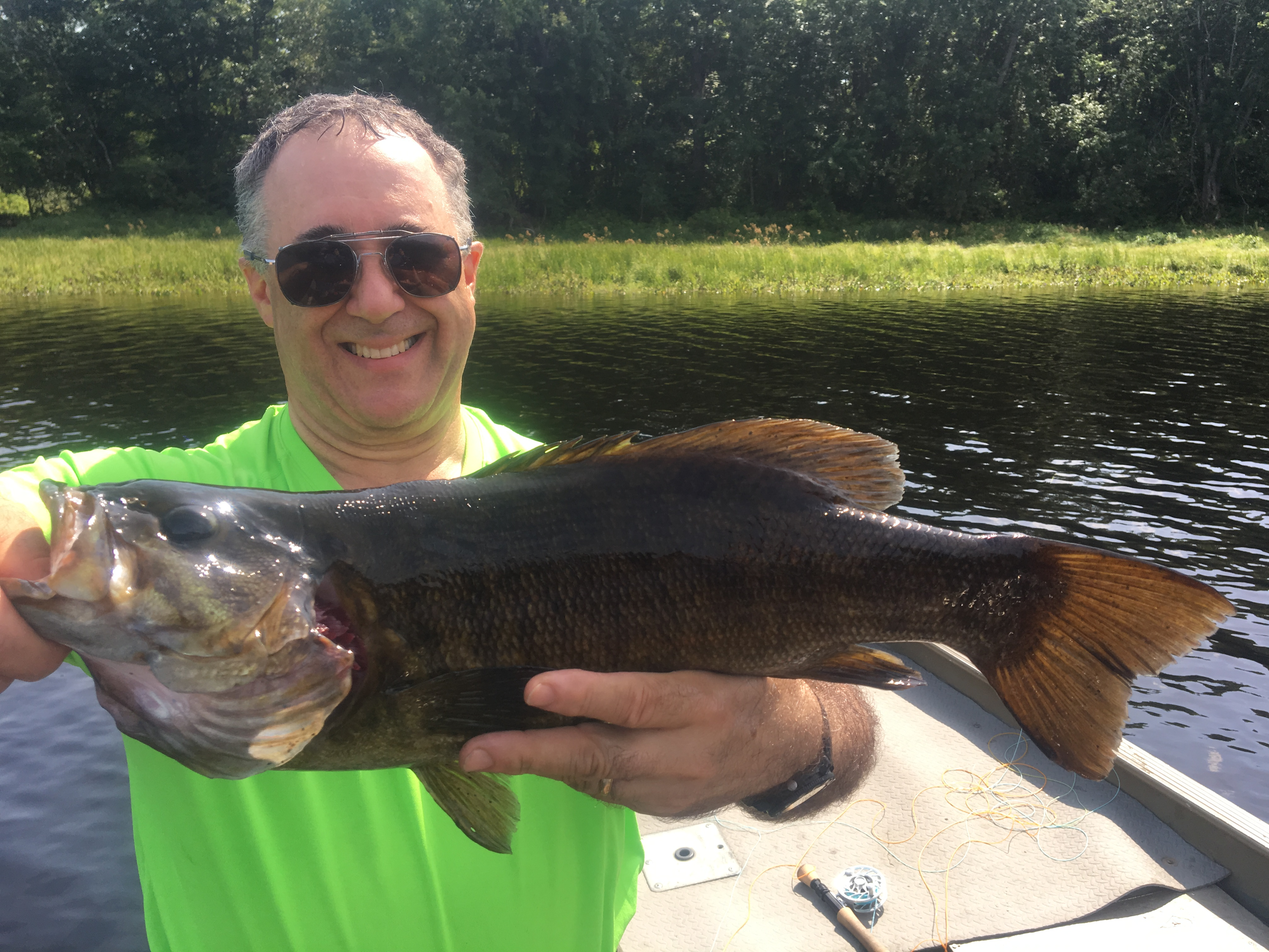 What your year in review look like fly fishing maine for Maine trout fishing
